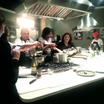 Date Night Cooking Class = Couple's Bonding Time