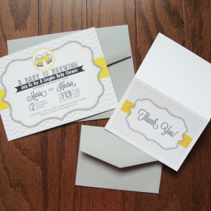 Shevron-Yellow-Invite-n-Thank-You