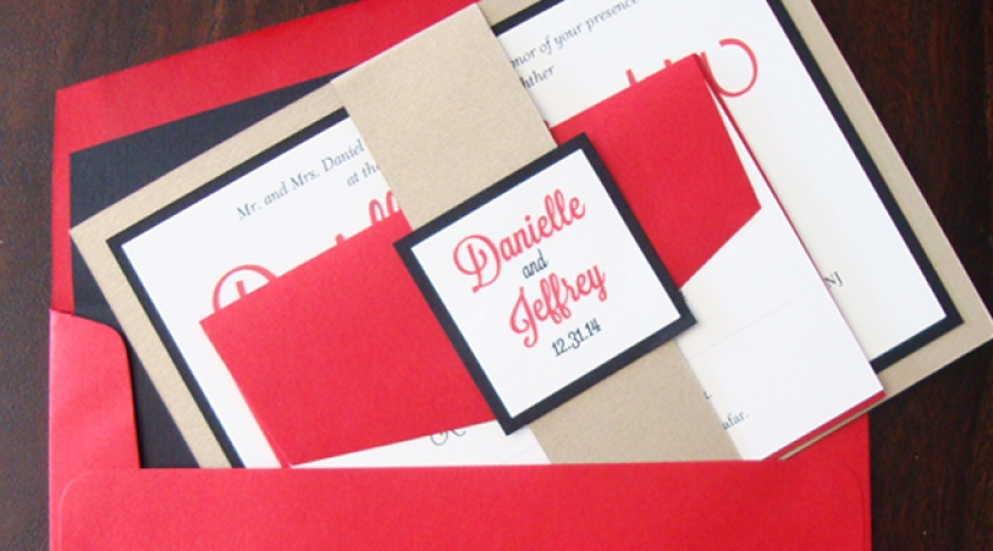 Danielle and Jeff Invites