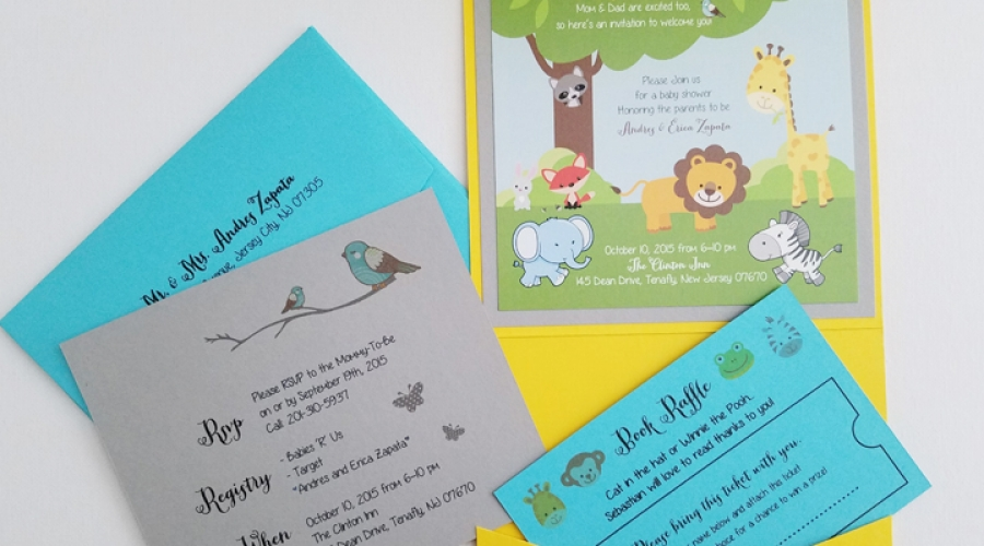Zapata Bday Invitation Animals 2